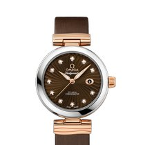 Omega De Ville Ladymatic Gold/Steel 34mm Brown United States of America, New York, New York