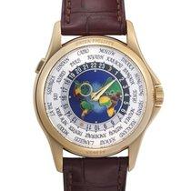 Patek Philippe World Time Желтое золото 39.5mm Белый