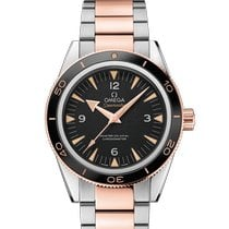 Omega Seamaster 300 Or/Acier 41mm Noir France, Paris