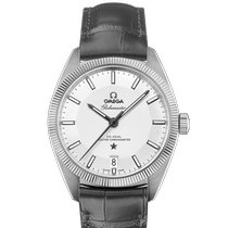 Omega Globemaster Steel 39mm Silver No numerals United States of America, New York, New York