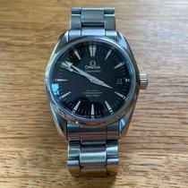 Omega Seamaster Aqua Terra Steel 36mm Black No numerals