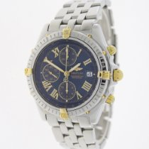Breitling Crosswind Racing Steel 43mm Blue Roman numerals