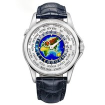 Patek Philippe 5131G-001 White gold 2012 World Time 39.5mm pre-owned