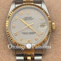 Rolex Lady-Datejust Acero y oro 31mm Blanco Sin cifras