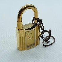 Hermès Kelly Gold/Stahl 20mm Gold Keine Ziffern