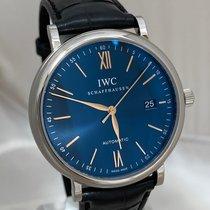 IWC Portofino Automatic Acero 40mm Azul