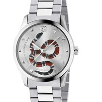 Gucci G-Timeless Acero 38mm Plata