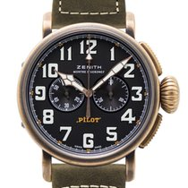 Zenith 29.2430.4069/21.C800 Bronce 2017 Pilot Type 20 Extra Special 45mm usados