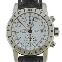 Glycine Airman Steel 44mm White Arabic numerals
