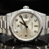 Rolex Day-Date 36 118206 2004 pre-owned