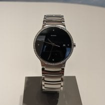 Rado Centrix pre-owned 38mm Black Date Steel