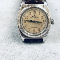 Rolex Bubble Back Acero 32mm Blanco Arábigos España, Madrid