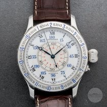 Longines Lindbergh Hour Angle Steel White