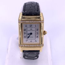 Jaeger-LeCoultre Reverso (submodel) Yellow gold 20.62mm Silver United States of America, Florida, Fort Lauderdale