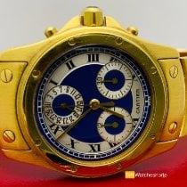 Cartier Κίτρινο χρυσό 30mm Χαλαζίας 1500 μεταχειρισμένο