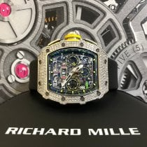 Richard Mille White gold Automatic RM 11-03 WG Full Pave new