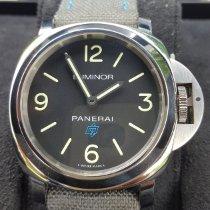 Panerai Luminor Base Logo Steel 44mm Black Arabic numerals United States of America, Maryland, HAGERSTOWN
