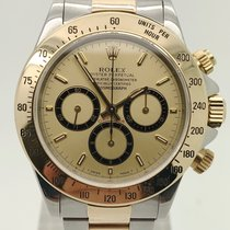 Rolex Daytona occasion 40mm Or Chronographe Or/Acier
