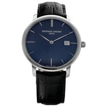 Frederique Constant Slimline Automatic Steel 40mm Black United States of America, Florida, Sarasota