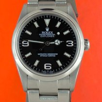 Rolex Explorer Stahl 36mm Schwarz Arabisch Österreich, Wien