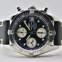 Breitling A13357 Steel 2005 Chrono Cockpit 39mm pre-owned