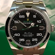 Rolex Air King Steel 40mm Black Arabic numerals United States of America, New York, Troy
