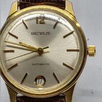 Benrus Gull/Stål 31mm Automatisk 05136 brukt