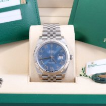 Rolex Datejust Steel 41mm Blue Roman numerals United States of America, California, Beverly Hills