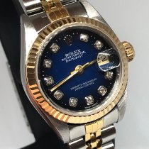 Rolex Lady-Datejust Gold/Steel 26mm Blue No numerals United States of America, New York, NEW YORK  ( Miami Office )