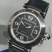 Cartier Pasha Seatimer Steel 40mm Black Arabic numerals United States of America, New York, NEW YORK
