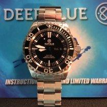 Deep Blue Staal 45mm Automatisch Master 2000 Day/Date tweedehands