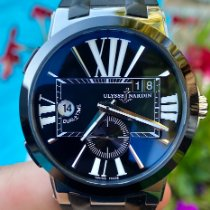 Ulysse Nardin Executive Dual Time Steel 43mm Black Roman numerals United States of America, Texas, Plano
