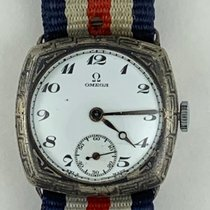Omega Omega Silver Antique WW1 Officer Trench Military  Cal.23.7 1917 occasion