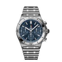 Breitling Chronomat Acier 42mm Bleu Belgique, Waregem
