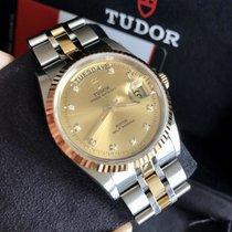 Tudor Prince Date Gold/Stahl 35mm