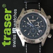Traser Steel 46mm Quartz 106832 new