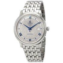 歐米茄 新的 自動發條 精密計時器 39.5mm 鋼 藍寶石玻璃