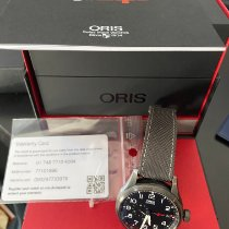Oris Big Crown ProPilot GMT Acier 45mm Noir Arabes France, NIMES