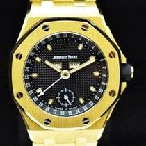 Audemars Piguet Or jaune Remontage automatique Noir Sans chiffres 38mm occasion Royal Oak Offshore