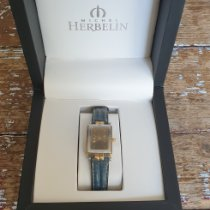 Michel Herbelin Newport (submodel) pre-owned Gold Leather
