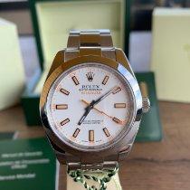 Rolex Milgauss новые 2011 Автоподзавод Часы с оригинальными документами и коробкой 116400