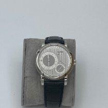 A. Lange & Söhne Lange 1 Platinum 38,5mm Silver Roman numerals