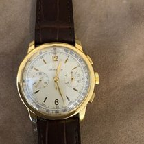 Longines Yellow gold 38mm Manual winding longines chronograf pre-owned