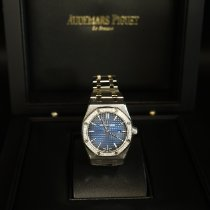 Audemars Piguet Royal Oak Lady Titanio 33mm Azul Sin cifras