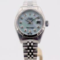 Rolex Lady-Datejust Zeljezo 26mm Sedef-biserast Bez brojeva