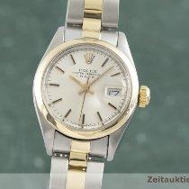 Rolex Oyster Perpetual Lady Date Zlato/Zeljezo 26mm Srebro