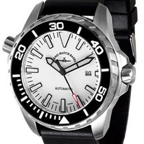 Zeno-Watch Basel Steel 53.5mm Automatic 6603-2824-a2 new United States of America, New York, Brooklyn