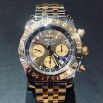 Breitling Chronomat 44 GMT Or/Acier 44mm Bronze Sans chiffres
