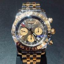 Breitling Chronomat 44 GMT Gold/Steel 44mm Bronze No numerals