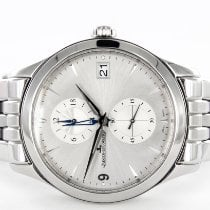 Jaeger-LeCoultre Master Hometime Steel 40mm Silver